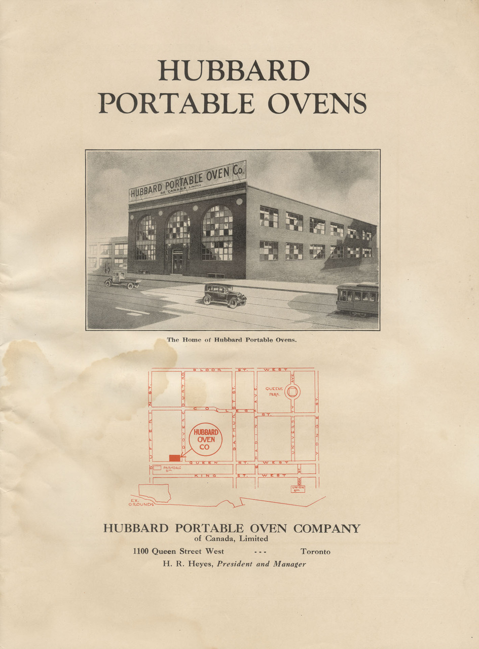 Hubbard Portable Ovens