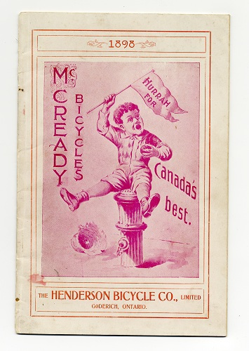 Bicycles accessories and sporting goods : catalogue no. 34, 1896