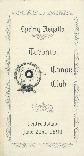 Spring Regatta, Toronto Canoe Club, Centre Island June 21st, 1890