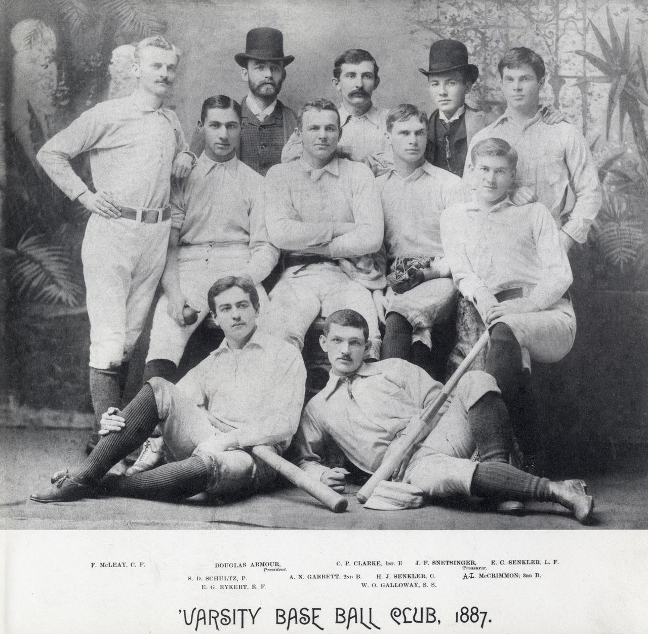 University of Toronto; Varsity Base Ball Club. Toronto, Ont