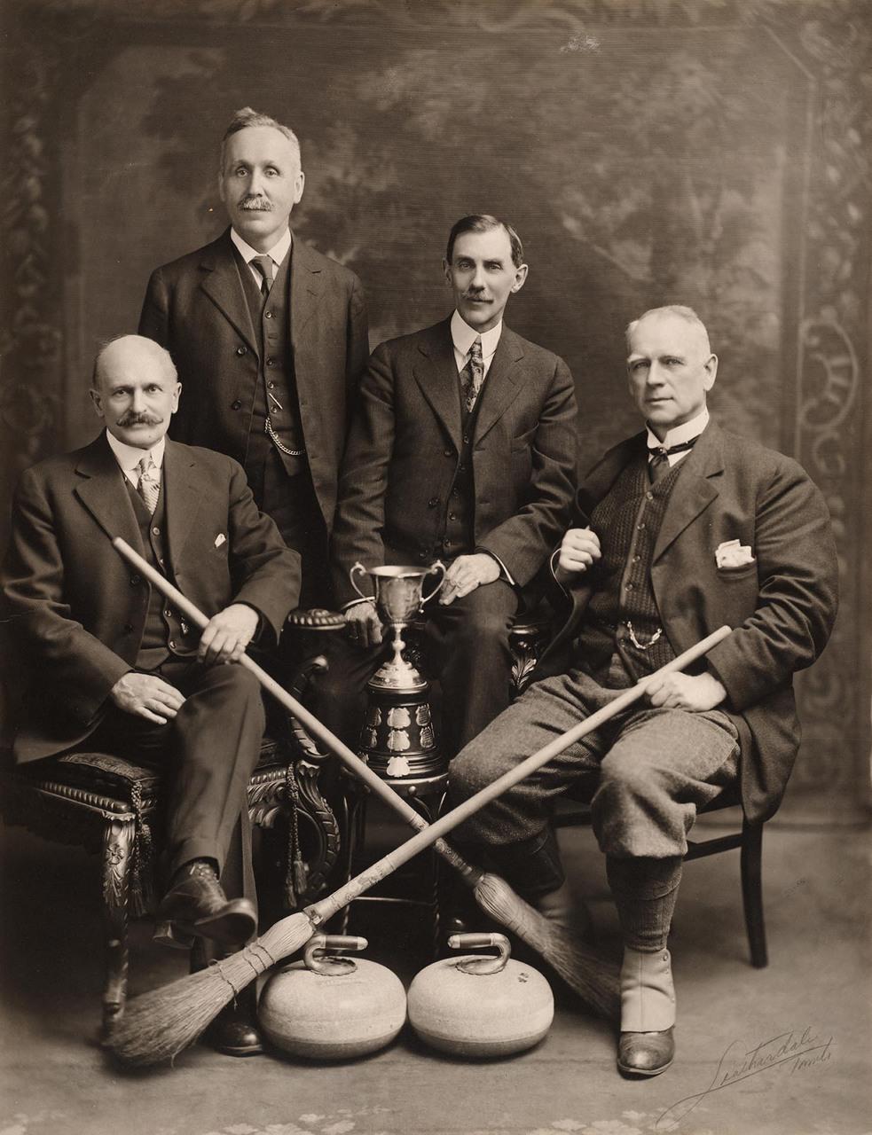 Flavelle Cup Curling Trophy Winners 1915-1916