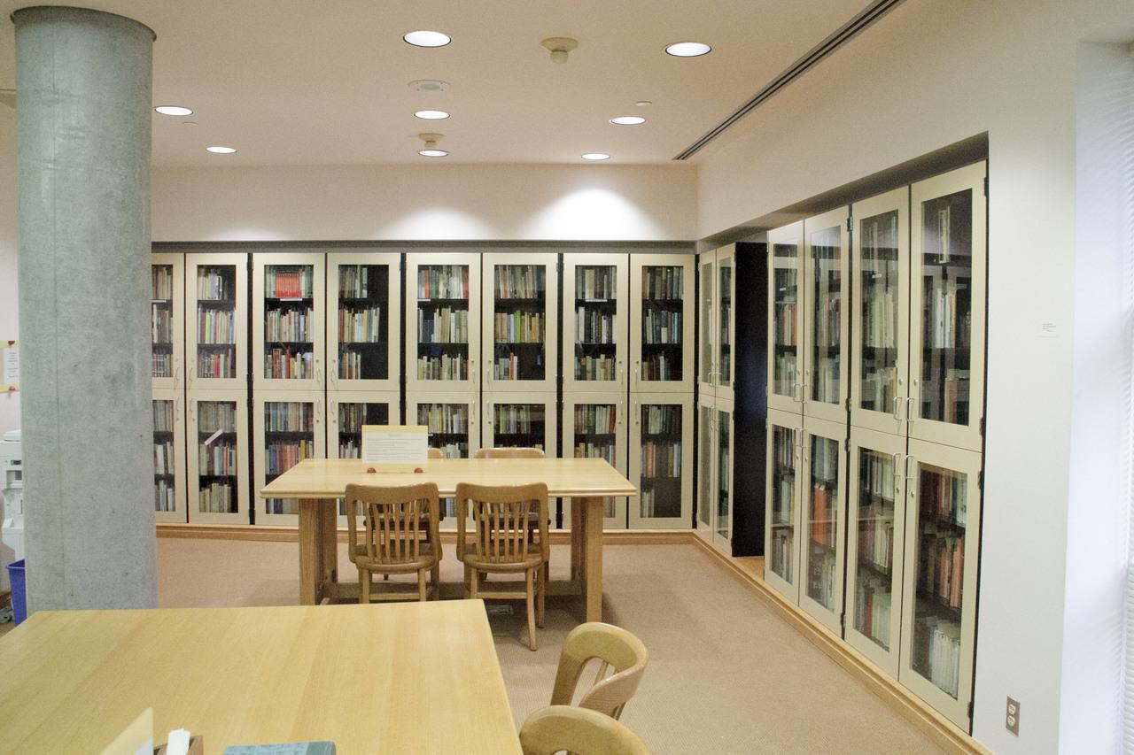 Osborne Collection shelves