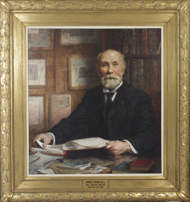 Portrait of James Bain, 1842-1908