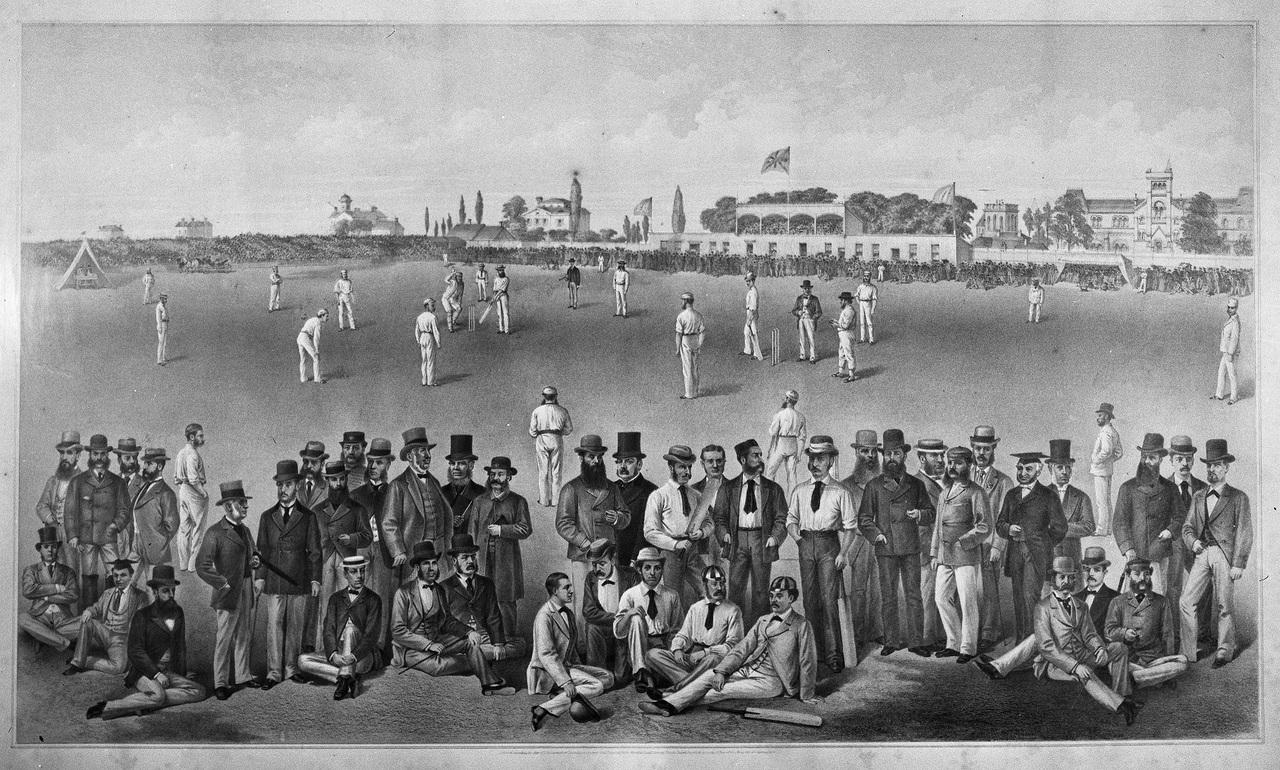Gentlemen of England vs. Toronto Cricket Club