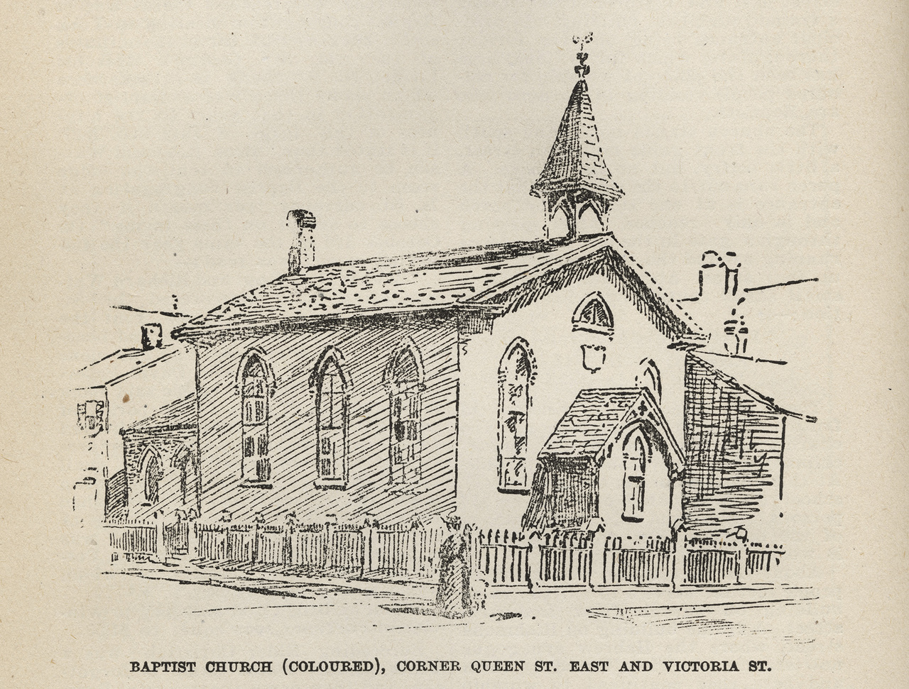 Toronto's First Baptist Church
