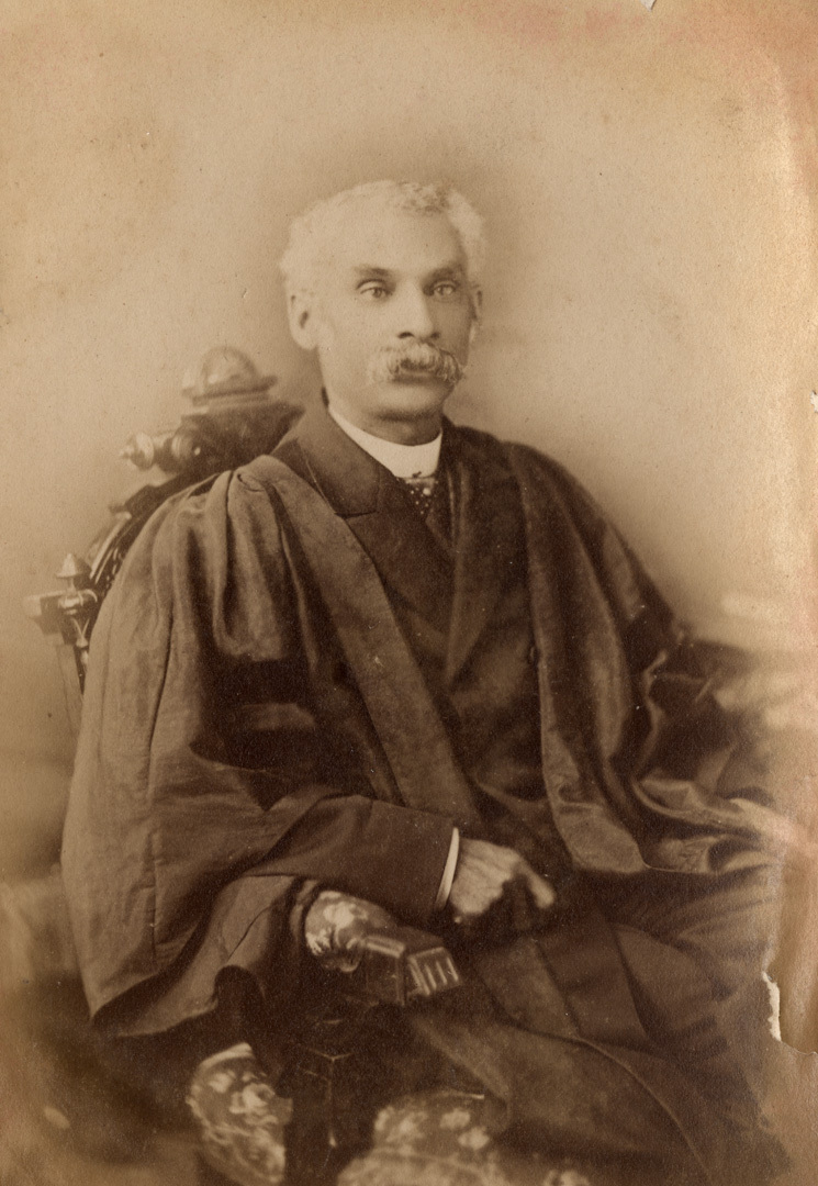 Anderson Ruffin Abbott in Academic Gown