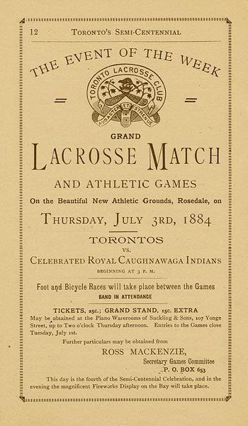 Toronto semi-centennial souvenir