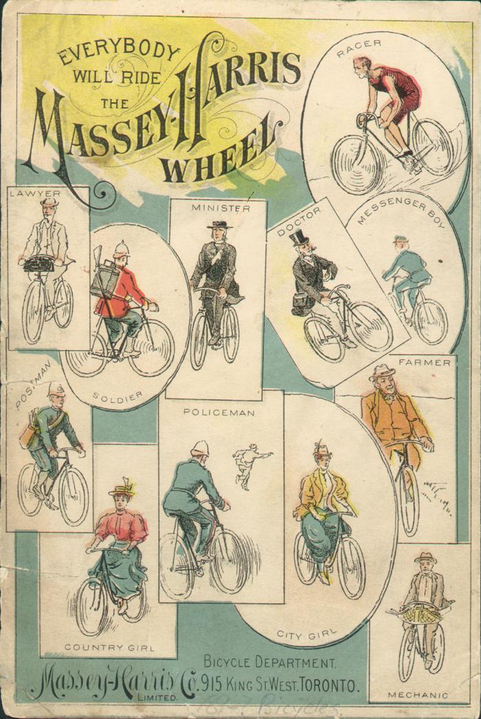 Everybody will ride the Massey-Harris wheel