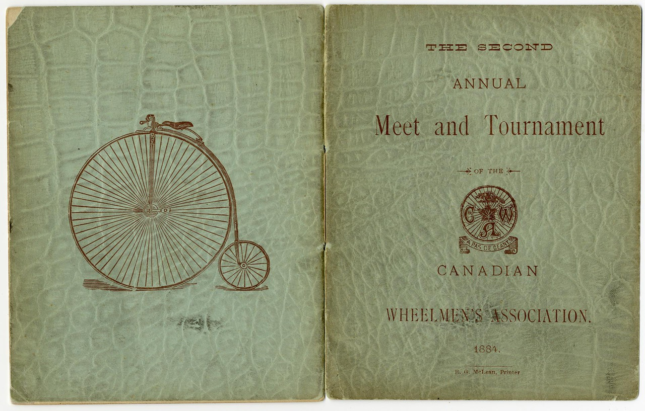 The Second annual meet and tournament of the Canadian Wheelmen's Association 1884
