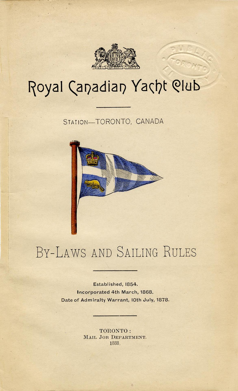 By-laws and sailing rules