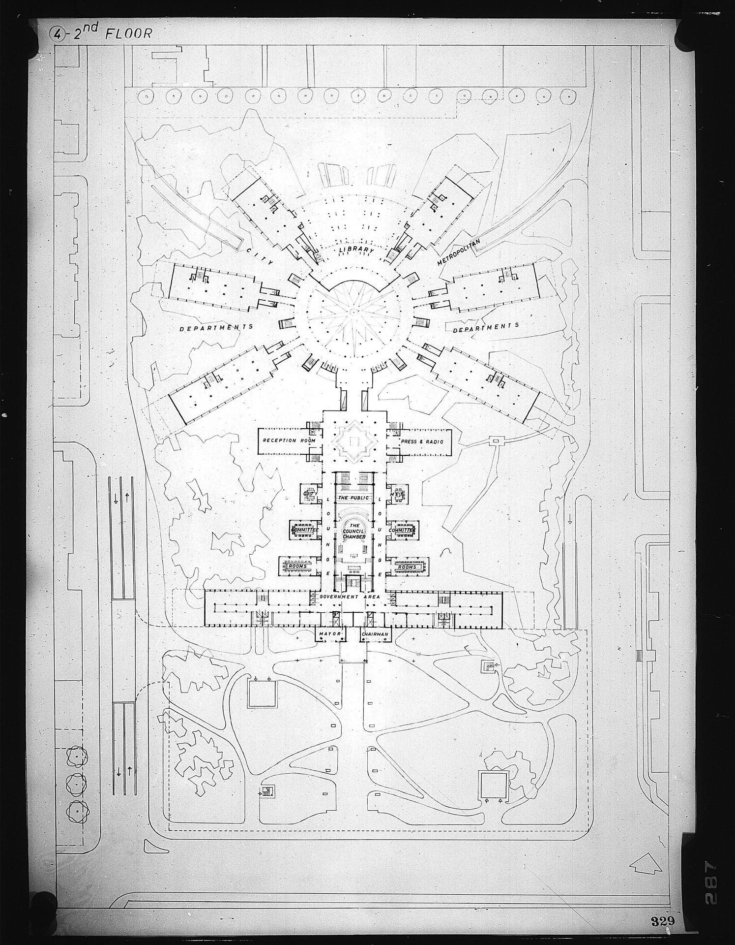 Z k kaplan architects toronto city hall square for Kaplan floor plan