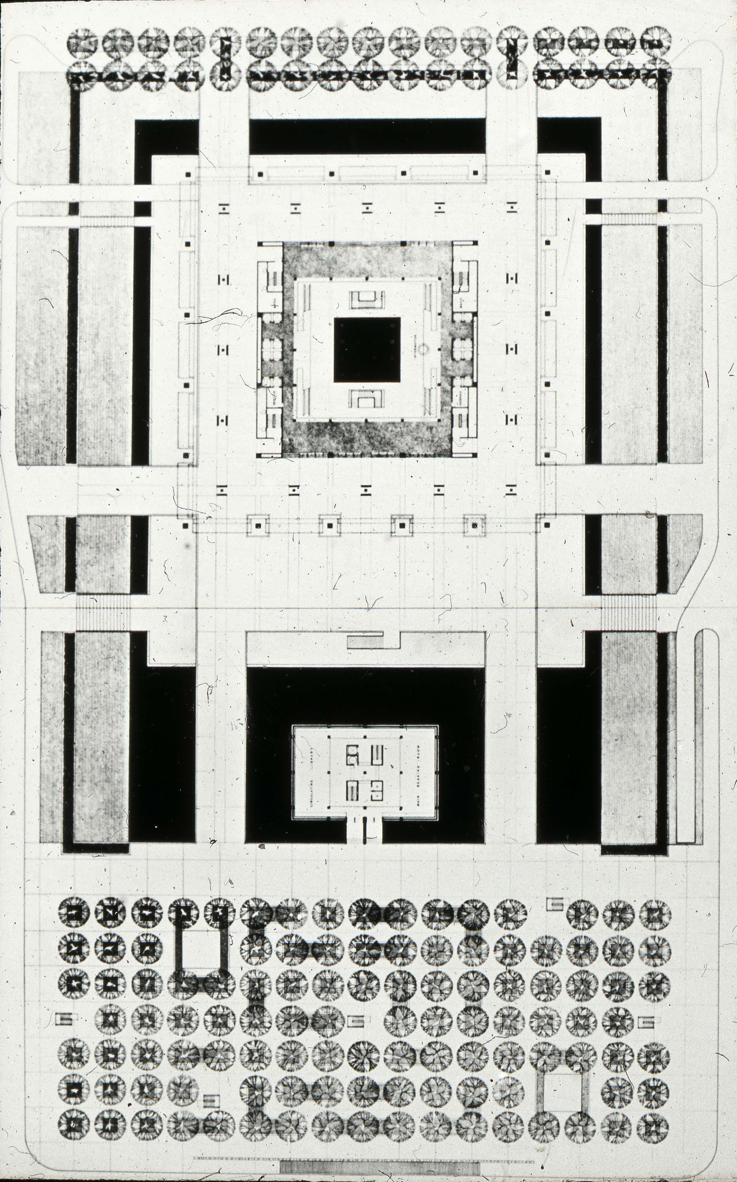 Frank Mikutowski Entry City Hall And Square Competition Toronto 1958 Floor Plan 183 Tpl Virtual