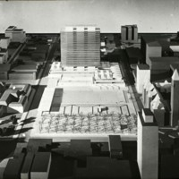 A-R3-10 - Halldor Gunnlogsson and Jorn Nielsen entry_City Hall and Square Competition_Toronto_1958_architectural model.jpg