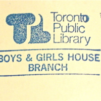 Boys and Girls House Branch Stamp