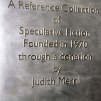 Merril Collection name-plate
