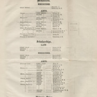 Fasti academici; annals of King's College, Toronto, containing lists of the officers and members of the university, and of the students, who obtained certificates of honour, prizes, or scholarships, from 1827 to 1849