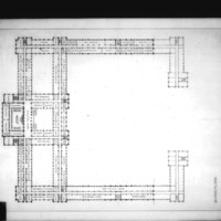 L. Kurpatow entry City Hall and Square Competition, Toronto, 1958, second floor plan