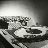 A-R3-07 - John H Andrews entry_City Hall and Square Competition_Toronto_1958_architectural model.jpg