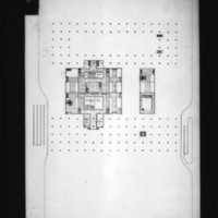 D. R. McMullin entry City Hall and Square Competition, Toronto, 1958, lower plaza plan