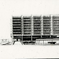 A-R3-14 - Frank Mikutowski entry_City Hall and Square Competition_Toronto_1958_elevation drawing.jpg