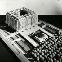 A-R2-15 - Frank Mikutowski entry City Hall and Square Competition_Toronto_1958_ architectural model.jpg