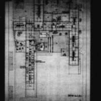 Tekne entry City Hall and Square Competition, Toronto, 1958, floor plan