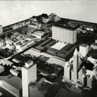 A-R3-11 - William B Hayward entry_City Hall and Square Competition_Toronto_1958_architectural model in situ.jpg