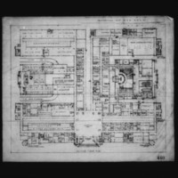 J. Narwekar entry City Hall and Square Competition, Toronto, 1958, ground floor plan