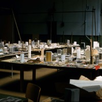 A-R1-12 - Architectural models at Horticultural Building for City Hall and Square Competition_Toronto_1958.jpg