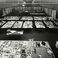 A-R3-02 - Architectural models at Exhibition_City Hall and Square Competition_Toronto_1958.jpg