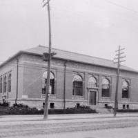 Dovercourt library, 1913