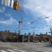 College and Spadina intersection