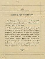 Toronto Toboggan Club letter, 29 December 1883